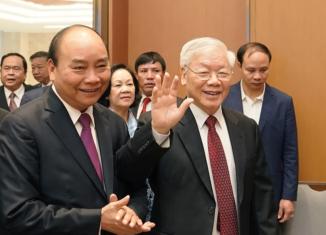 El secretario general del Partido Comunista de Vietnam (PCV), Nguyen Phu Trong, felicitó este lunes a su par de Cuba, Miguel Díaz-Canel, en ocasión del aniversario 68 del asalto a los cuarteles Moncada y Carlos Manuel de Céspedes.