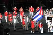 El ciclista Damián López, el tenimesista Yunier Fernández y la pesista Leidy Rodríguez serán los primeros cubanos en participar en los XVI Juegos Paralímpicos Tokio 2020, al competir hoy en la cita de 4 400 competidores de 160 países.