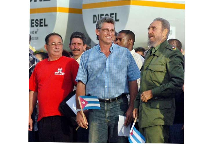 El presidente de Cuba, Miguel Díaz-Canel, recordó este viernes momentos junto al líder histórico Fidel Castro y manifestó su admiración por la obra del revolucionario a propósito del aniversario 95 de su natalicio.