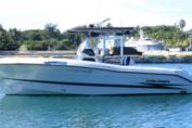 La embarcación fue detectada oportunamente por los medios radiotécnicos de las Tropas Guarda Fronteras al penetrar a las aguas territoriales cubanas, por lo que se envió una unidad de superficie a su identificación y detención.