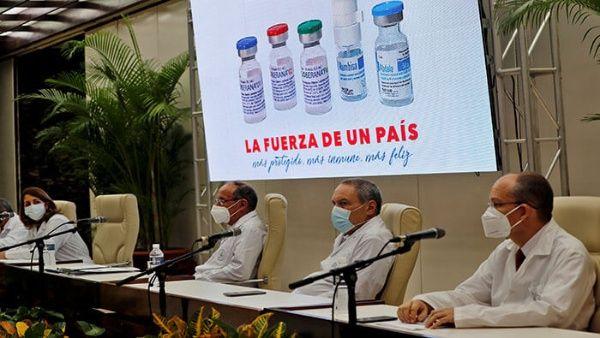 El director de Ciencia e Innovación de BioCubaFarma, Rolando Pérez, indicó que luego del próximo encuentro, los expertos de la OMS comenzarán a evaluar la documentación entregada sobre las vacunas antiCovid-19