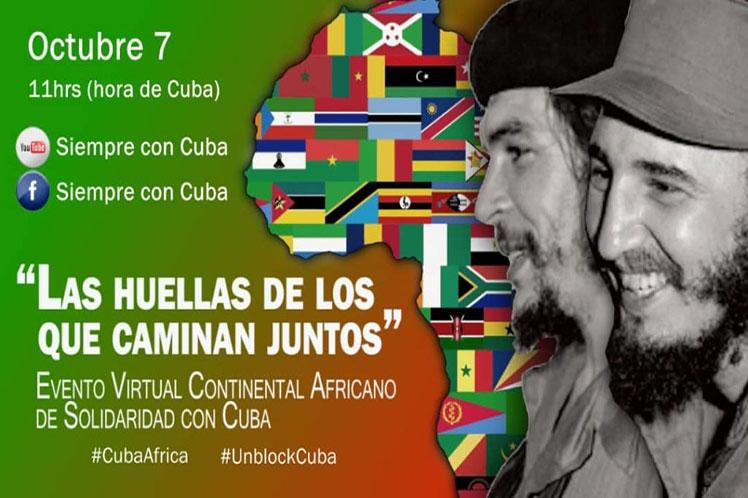 A través de su cuenta oficial en Twitter, el Presidente de Cuba remarcó la raíz común, las luchas y la sangre compartidas, y evocó el legado de líderes de ambos territorios, como Fidel Castro, Ernesto 'Che' Guevara, Thomas Sankara y Oliver Tambo.
